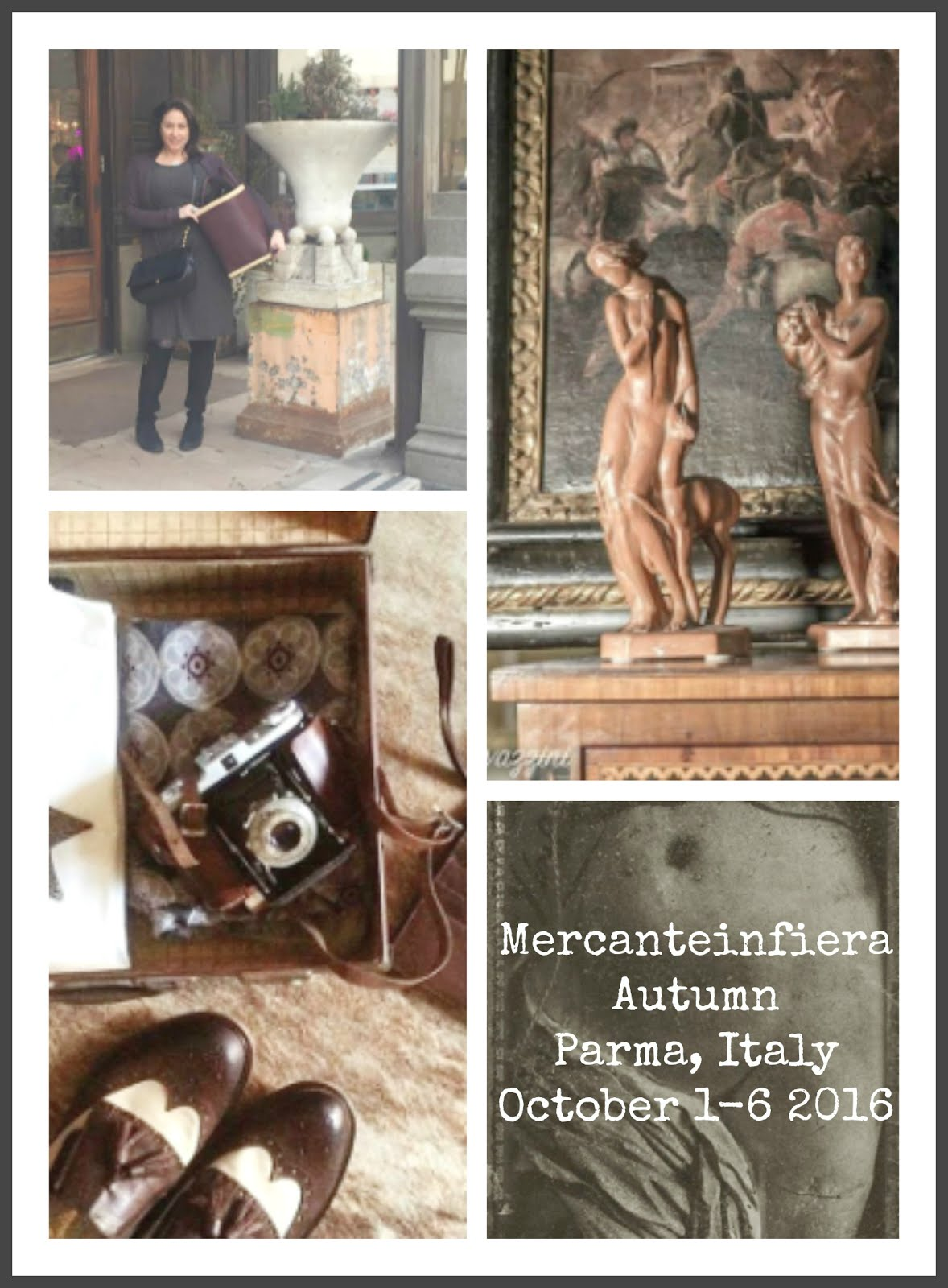 Follow Tamara's Musings At Italy's Largest Antique Show in Parma, Italy This Week.
