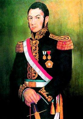 Ilustración de Don José de San Martín
