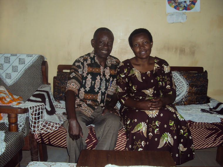 Yokolamu and wife Robinah