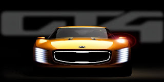 Kia GT4 Stinger Concept (2014 Rendering) Front