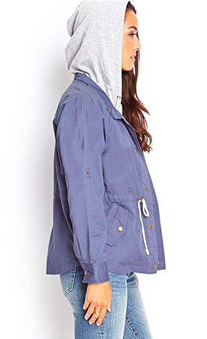 Hooded jacket from Forever21