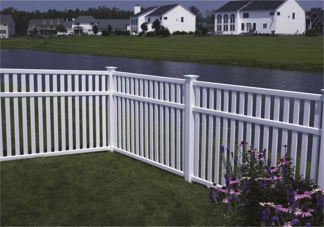 The Fence Line Vinyl Fencing By Bufftech Now Available Online