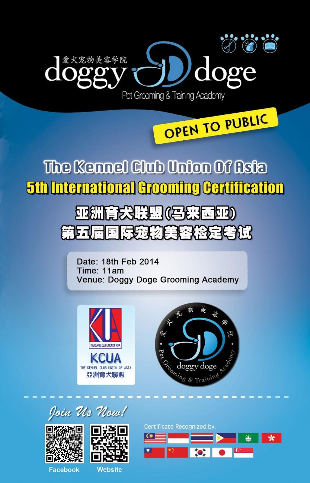 Kcua 3rd International Grooming Certification 2011 Doggydoge