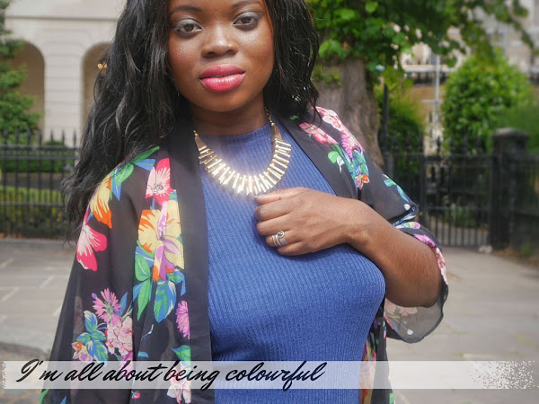 FASHION| I'M ALL ABOUT BEING COLOURFUL