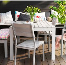 Mesa exterior Ikea