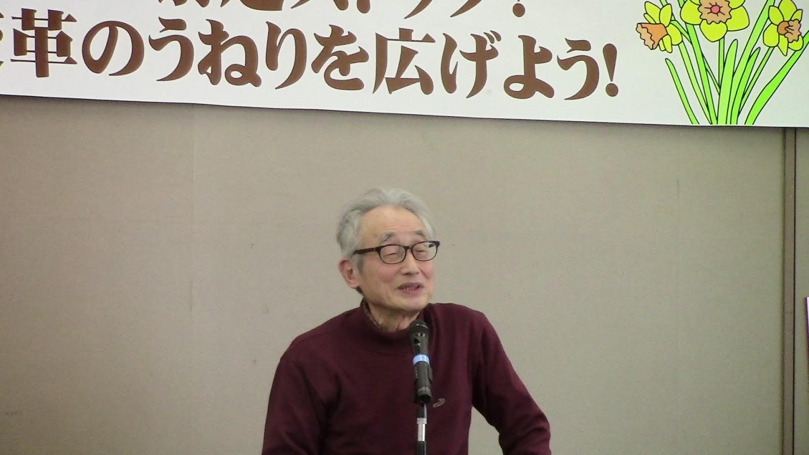 倉本朝夫(東久留米革新懇)   憲法宣伝で共同が進み継続している!