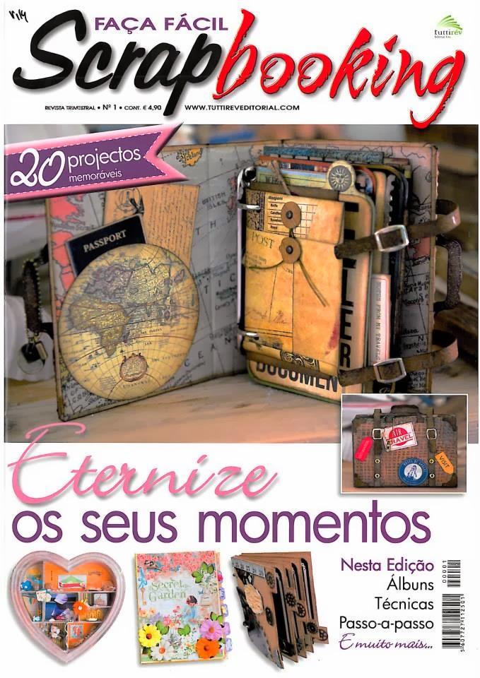 Revista Faça Fácil Scrapbooking #1