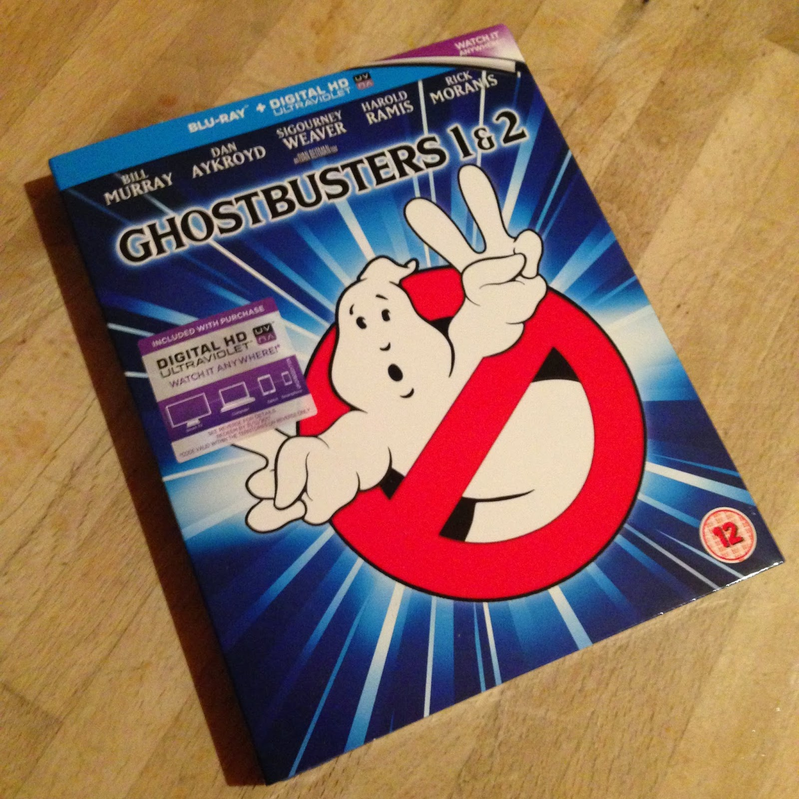 Who Ya Gonna Call? GHOSTBUSTERS!