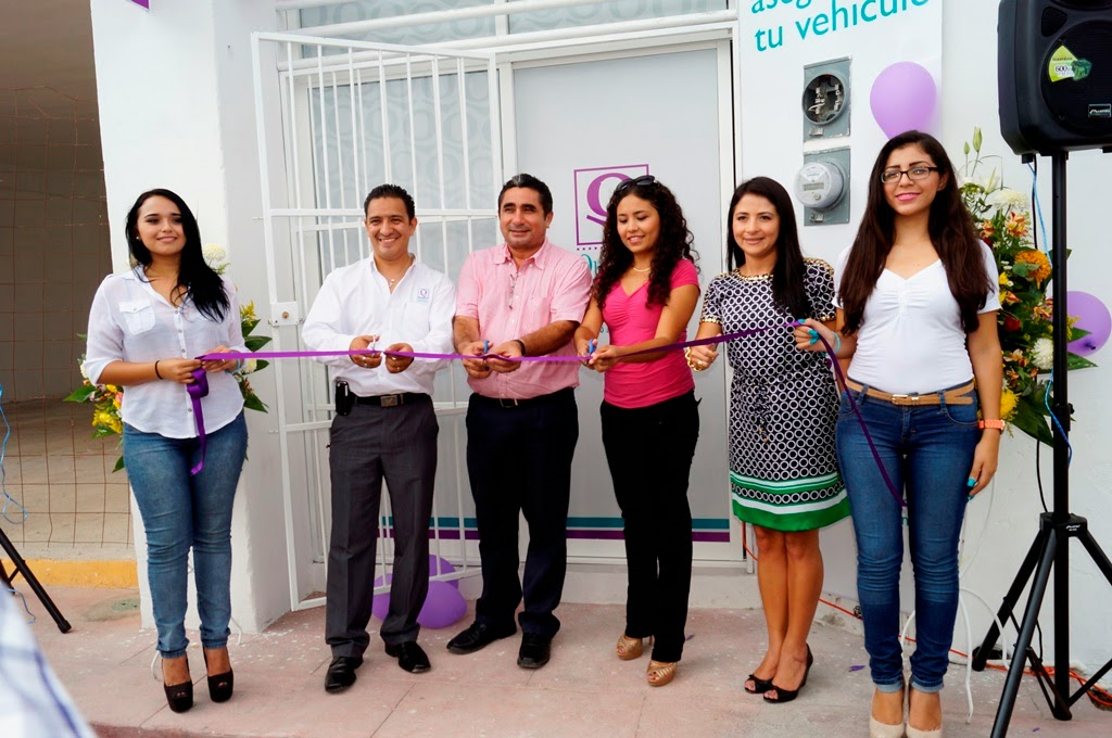Inauguran oficinas de qualitas en champot n champohouston for Oficina qualitas auto