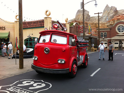 Red Fire Engine Truck Cars Land