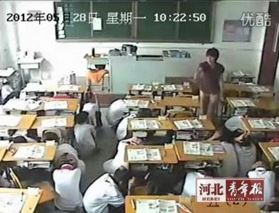 Students_Emergency_evacuation_Tangshan_china_earthquake_recent_natural_disasters