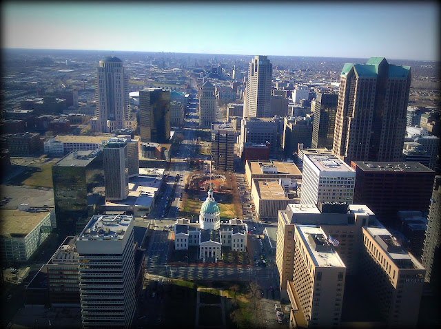 St. Louis, MO from Arch