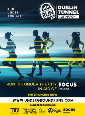 Dublin Tunnel Run 10K