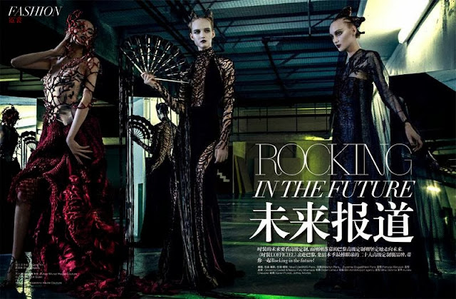 NIKA COLE  FOR  L'OFFICIEL (CHINA, OCTOBER).
