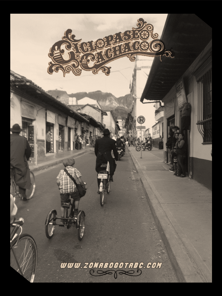 CICLOPASEO CACHACO 2014 en Bogotá 17