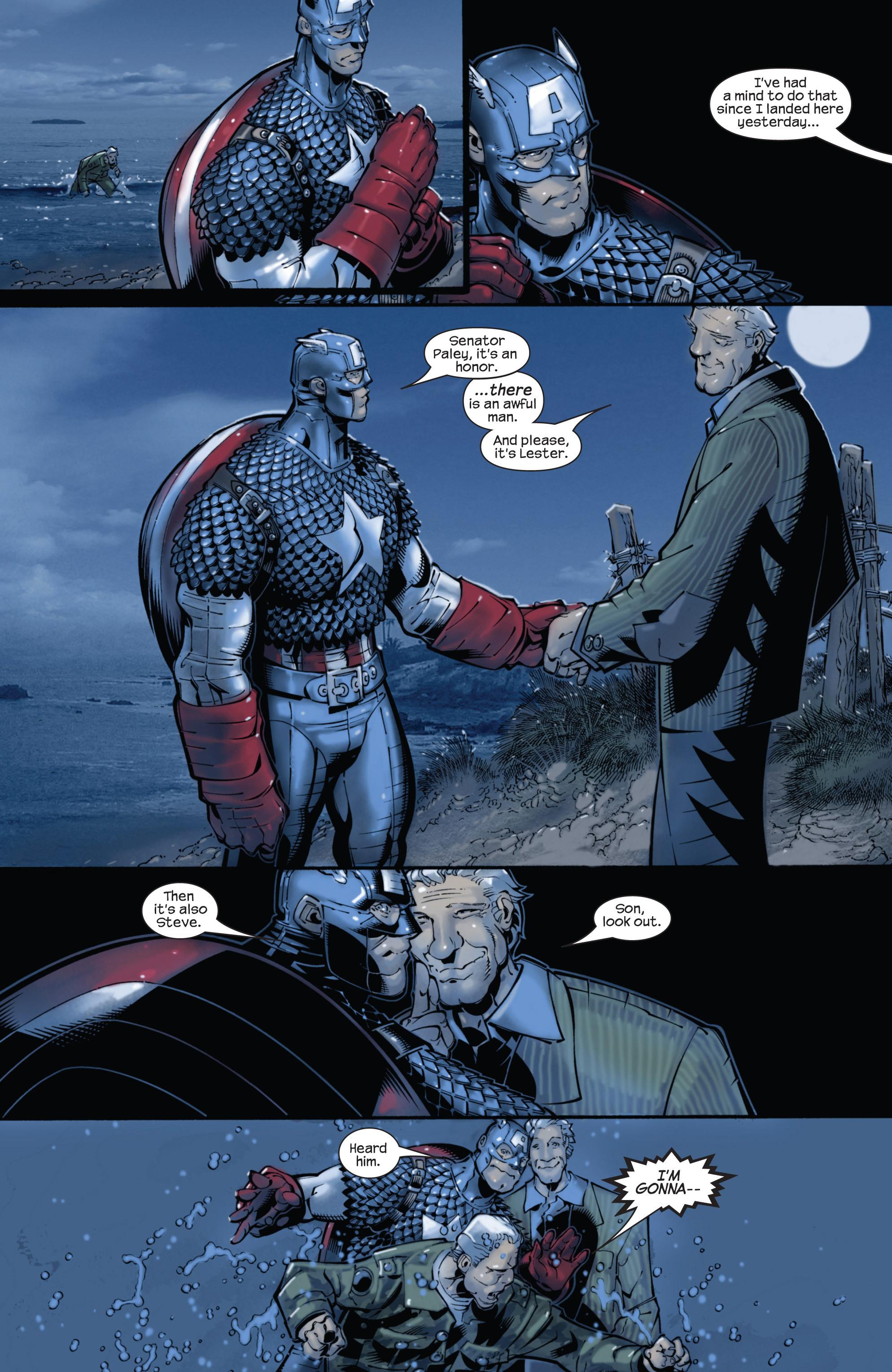 Captain America (2002) Issue #22 #23 - English 16