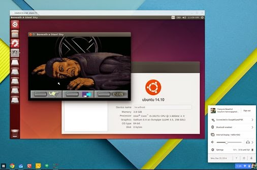 You can now run Linux in a window on your Google Chromebook with Crouton Chrome extension