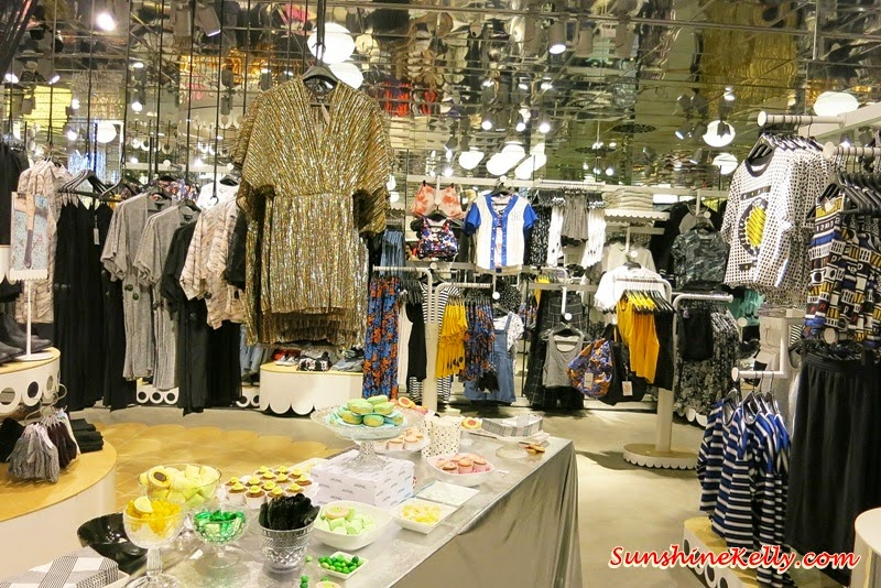 Monki @ 1 Utama, Monki 1Utama Pre-Opening Party, new in 1Utama shopping. Flower Headband, Laced and Net Hedband, optimistic