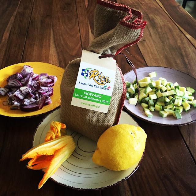 La mia prova del cuoco #21 / Risottino tiepido ai fiori di zucchina e profumo di limone