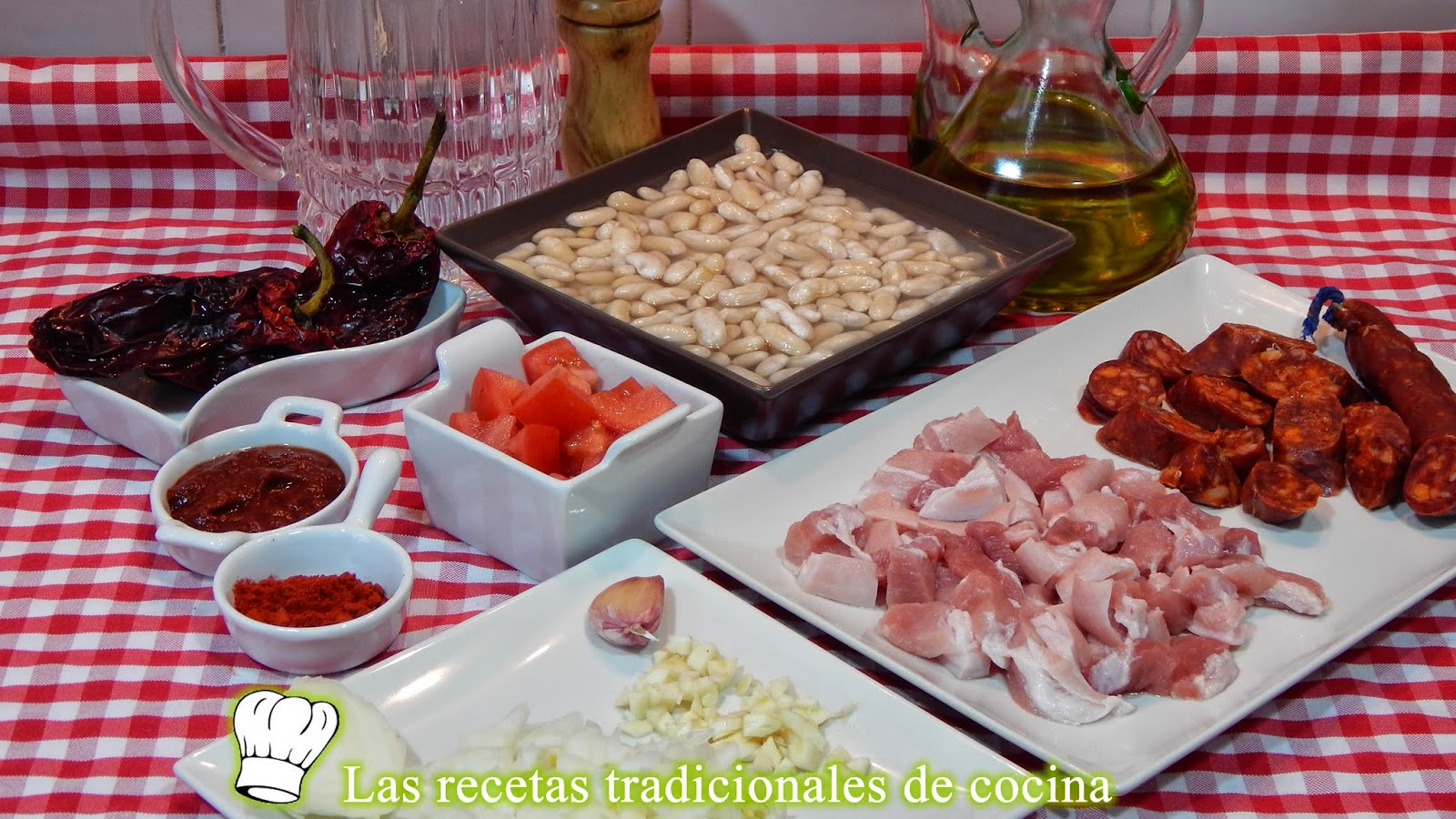 Receta fácil de alubias a la Riojana