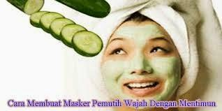 cara membuat masker wajah alami1