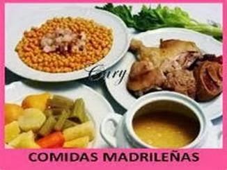 Comidas Madrileñas