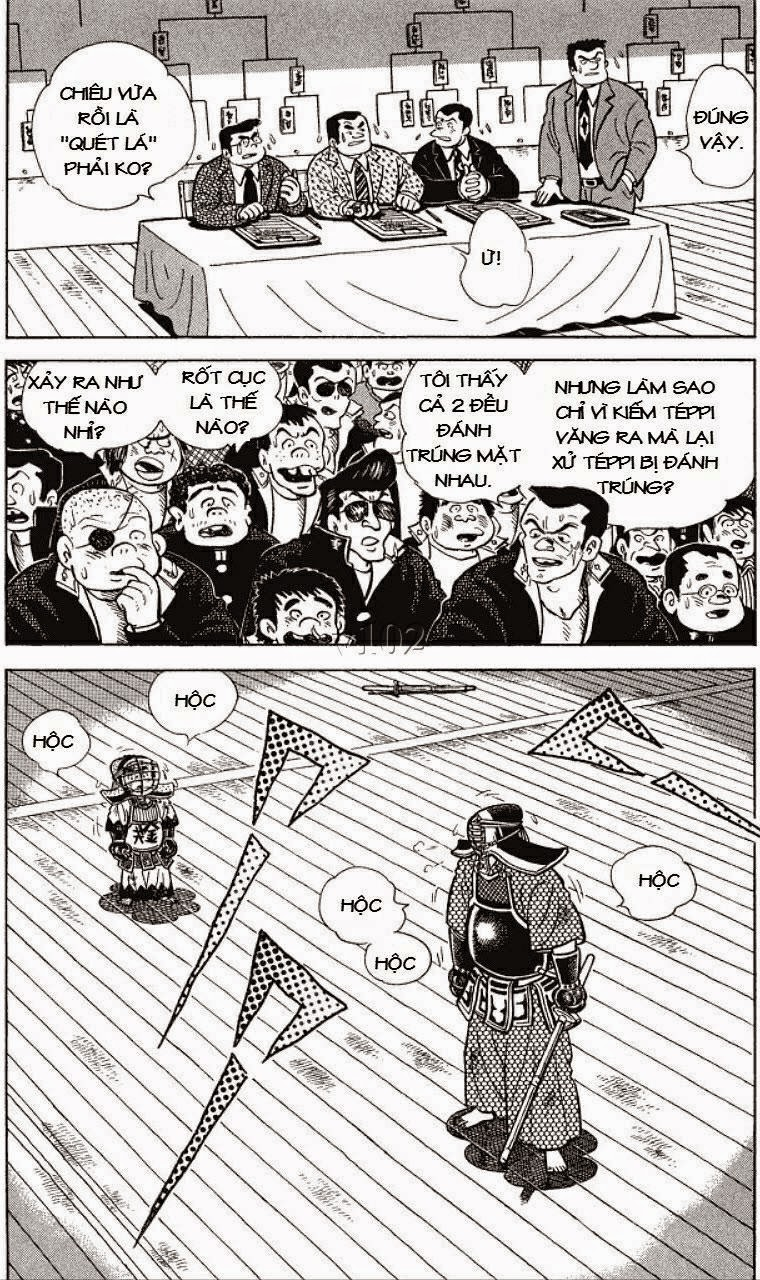 Siêu quậy Teppi chap 130 - Trang 30