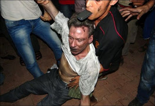 Ambassador Stevens in Benghazi , Libya