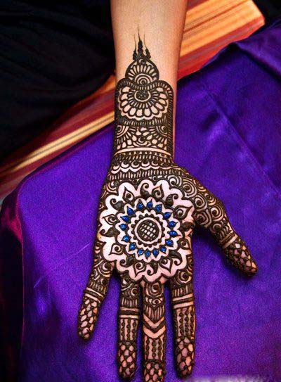 Mehndi Traditional Designs : Traditional mehndi designs for hands blondelacquer