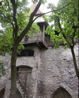 Interior de la muralla de Tallín