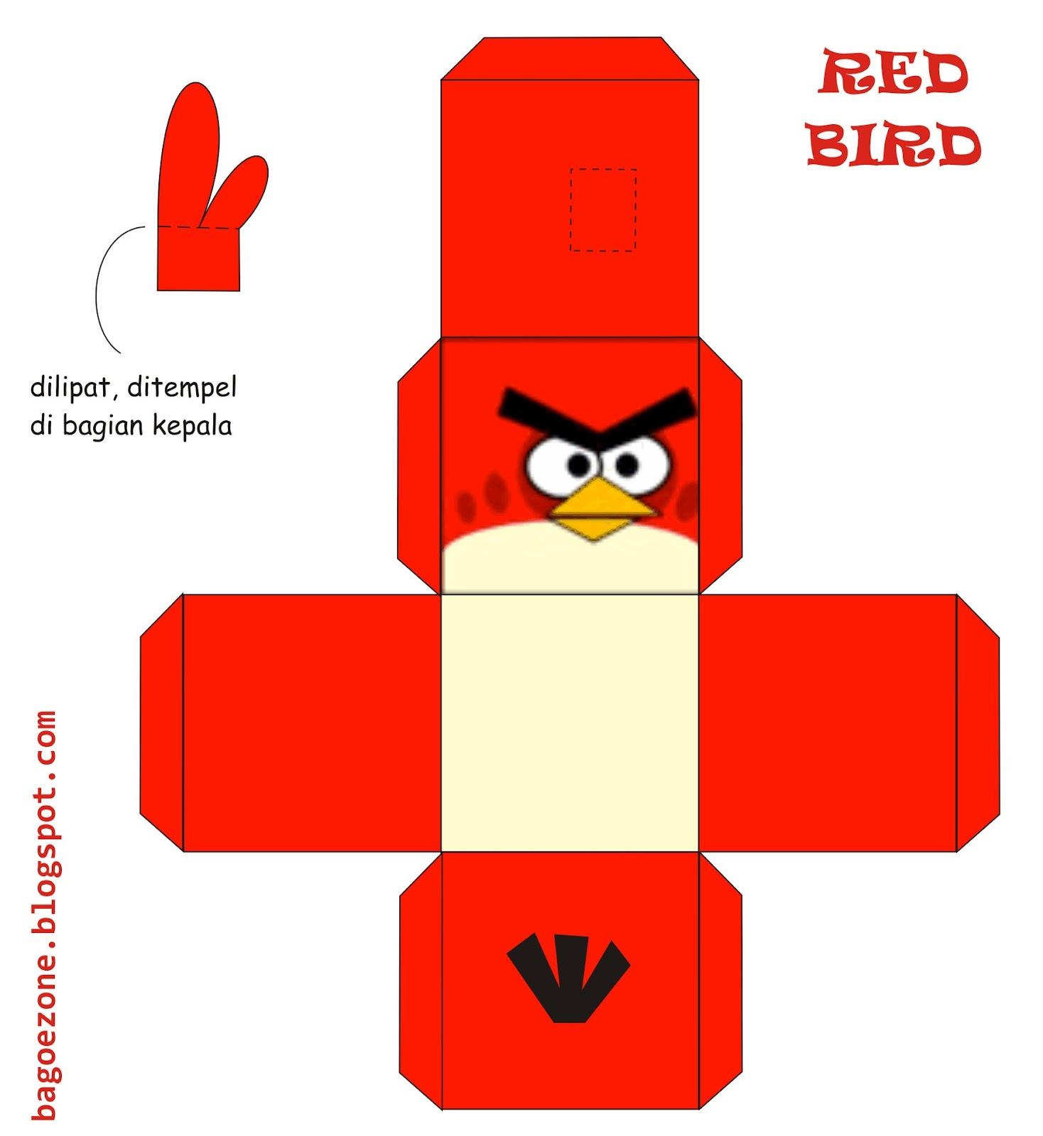 Как сделать angry birds из бумаги