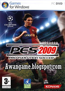 PES 2009 Mediafire Game RIP