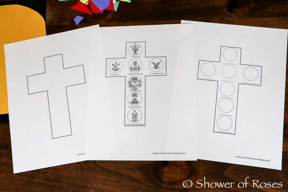 Shower of Roses: The Seven Sacraments Stained Glass Window {Catechism ...