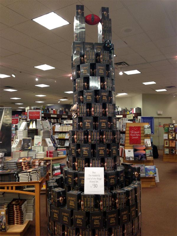 hobbit book display