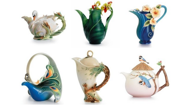 Porcelain kettles