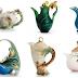 Stunning porcelain kettles