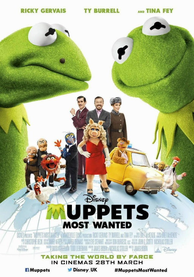 Muppets Most Wanted (El tour de los Muppets) - Solo Full Películas