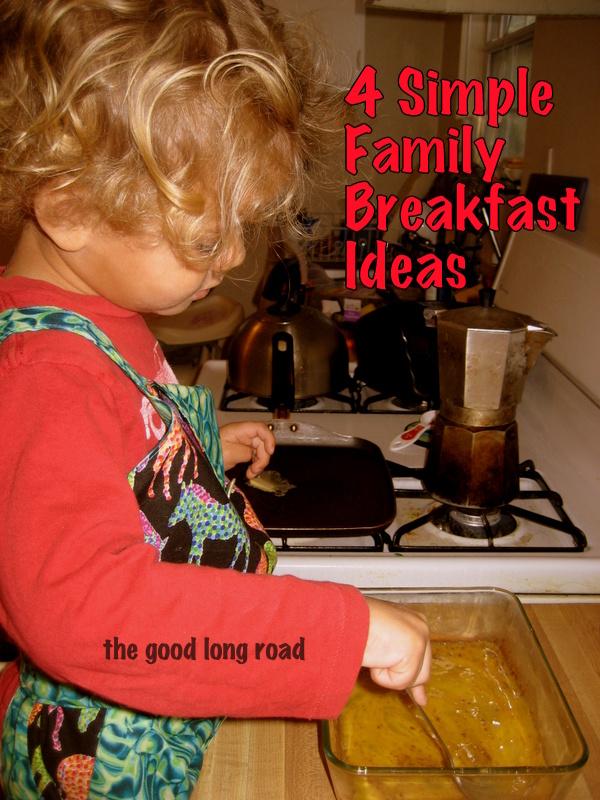 four simple family breakfast ideas simple family dinner blog hop