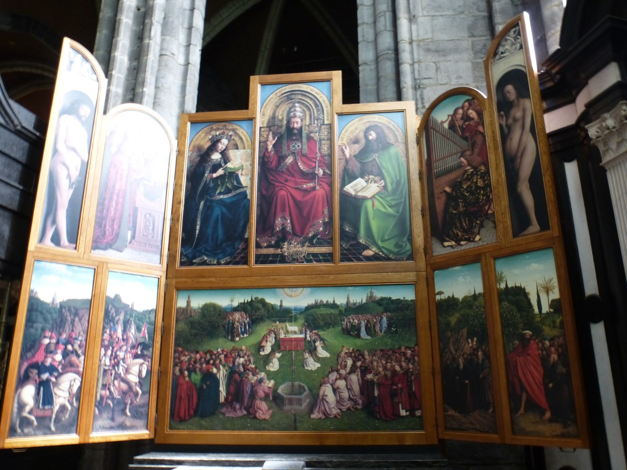 Ghent Altarpiece Lamb The Road Goes Ever On:...