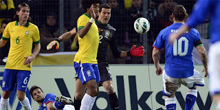 Video Gol Brasil vs Italia 22 Maret 2013