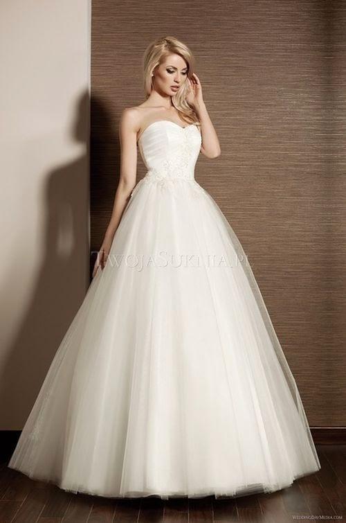 Suknie ślubne Vestido Suknia ślubna Marki Papa Michel Model Inuha