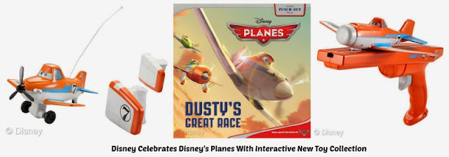 High Flying Planes Interactive Toys