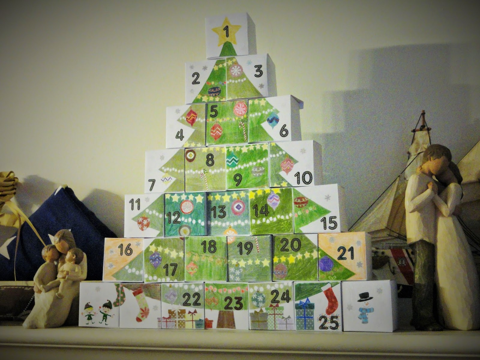 DIY Advent Calender from Powerful Mothering
