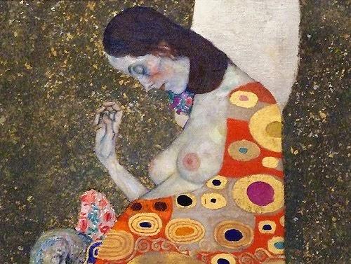 NOCHE TRANSFIGURADA.  Klimt+embarazada