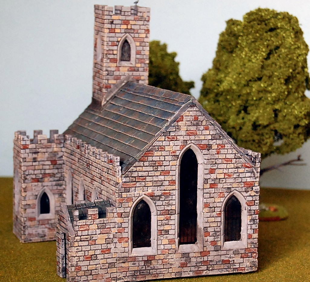 Miniature Minions Ho Scale Buildings With Linka