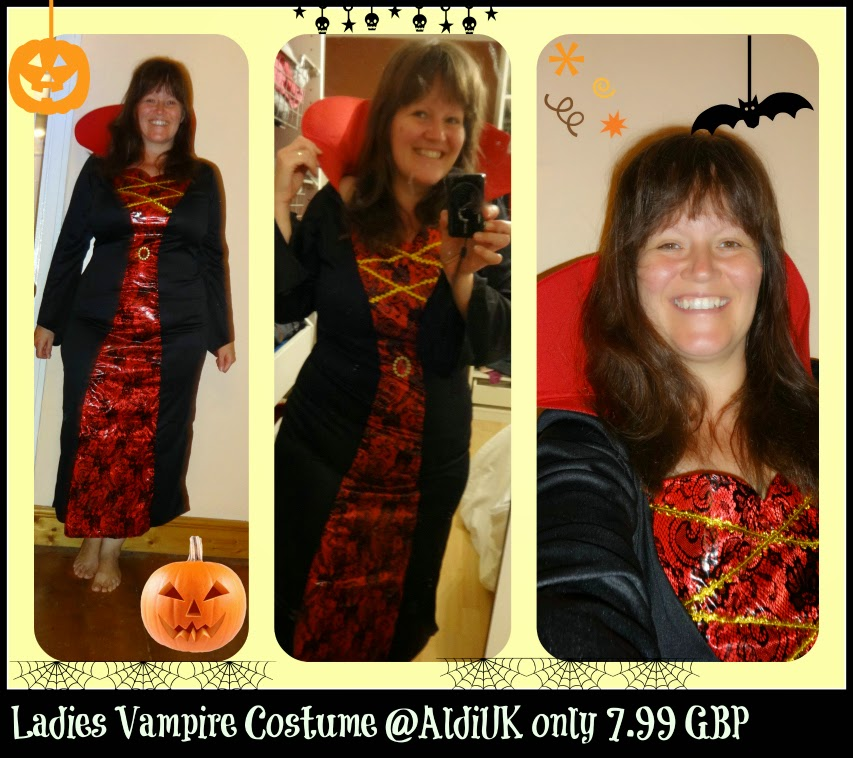 Vampire Halloween Costume from Aldi UK