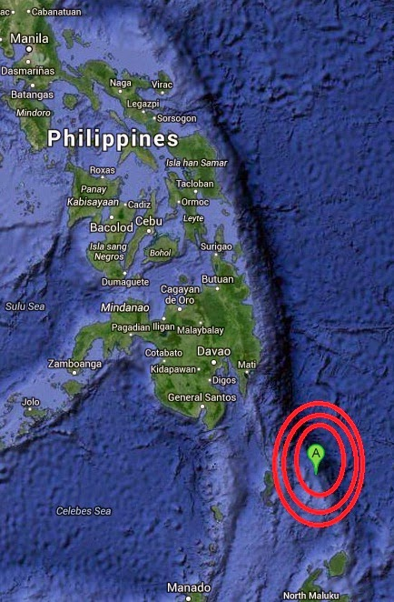 Magnitude 5.2 Earthquake of Pondaguitan, Philippines 2014-09-07