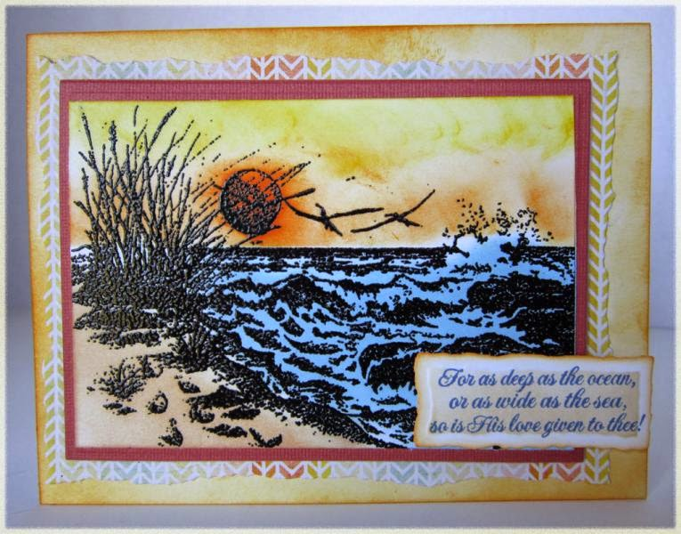 ODBD The Mighty Sea, Card Designer Connie Griffin