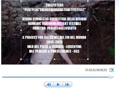 PLIC'PLOC'SDENGSDENGGRATGRATFISTFIST BIENAL DEL FIN DEL MUNDO ARGENTINA