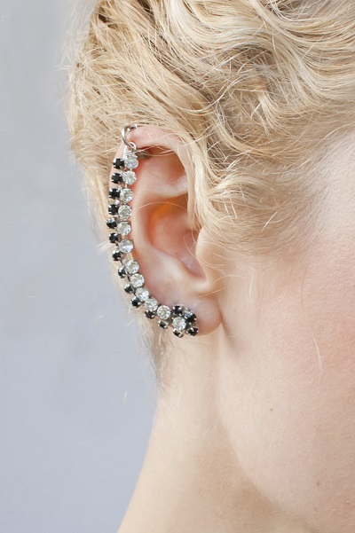Rachel Of Transient Expression Has A Clever Tutorial Which Features Rhinestone Chain See Above What Is Neat She Uses Clip On Earring Finding At